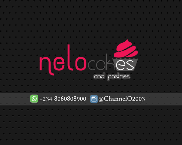 Nelo Logo with contact